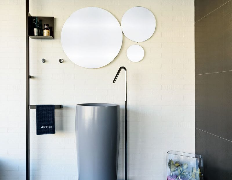 Specchio bagno moderno Beneventi Arredo Bagno sassuolo