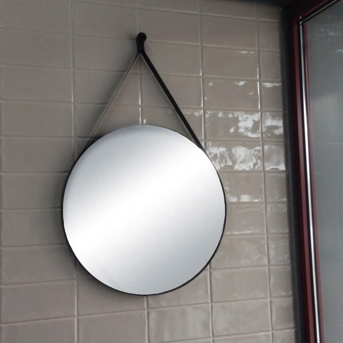 Specchiera da parete ovale