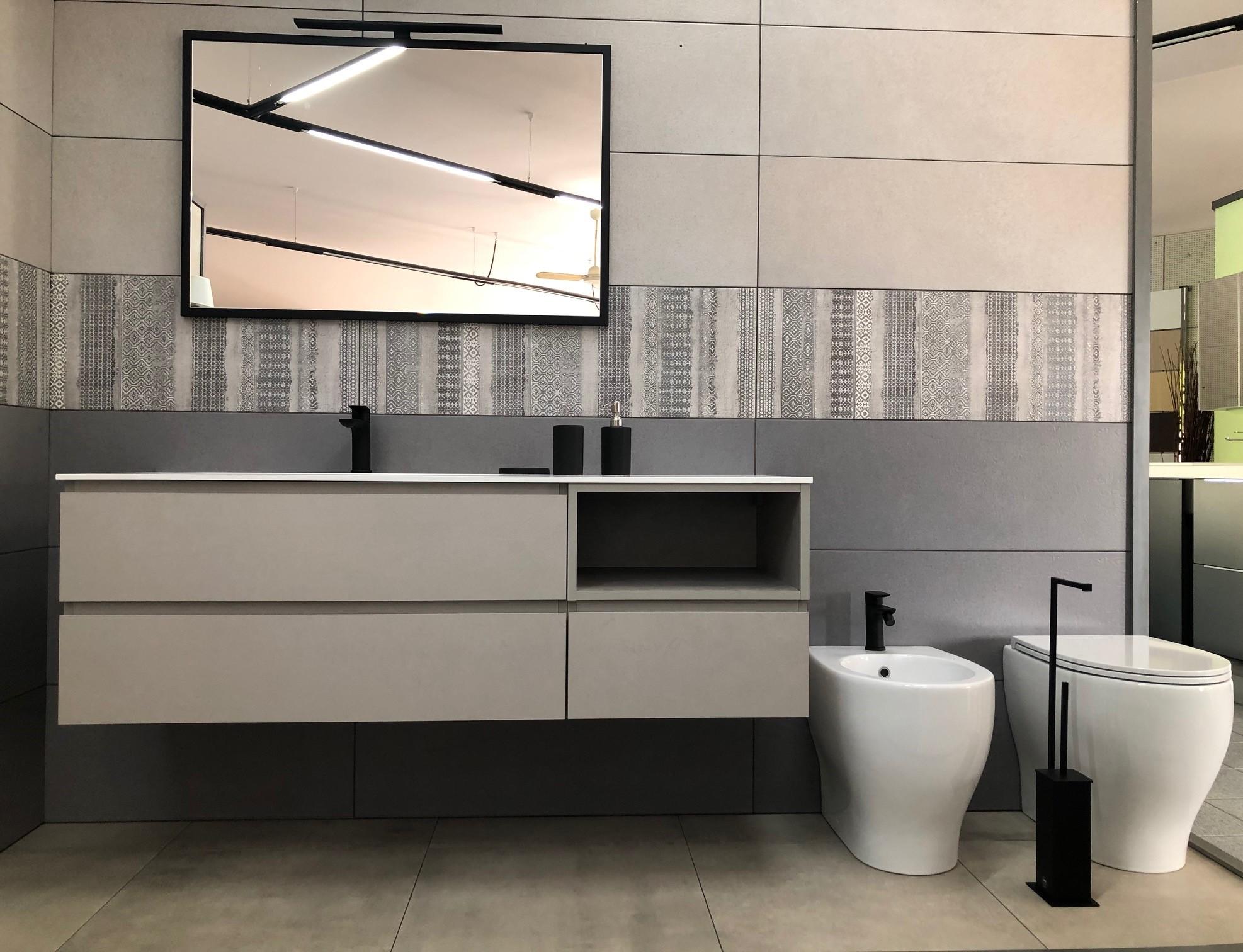 mobile bagno e specchiera design
